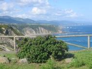 Costa Oviñana desde el mirador de Cueva